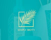 Product design fashion, SimplyBioty Logo Design