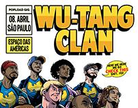 Pôster - Wu Tang Clan em São Paulo