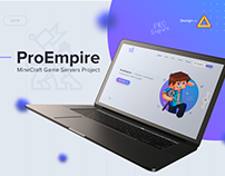 ProEmpire — Game design for minecraft server.
