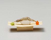 World's Smallest Sushi