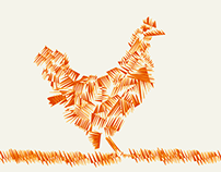 Charles Chickens / Illustration