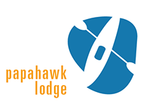 Papahawk Lodge: Brand Identity