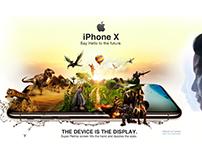 Apple iPhone X | Creative Manipulation