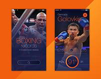 Boxing app