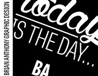 BA Graphic Design Social Media Announcement Posts