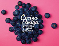 Logo for Cocina Amiga - Blog about healthy cooking