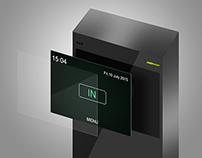Access Control Device GUI Design