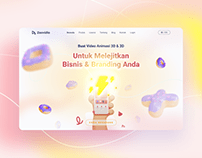 Zenvideo | Redesign Levideo Website | By Zalepik