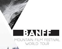PROJET SCOLAIRE : Affiche BANFF