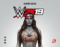 WWE 2K19 - UI/UX Design