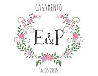 Covite de Casamento| Elder & Priscila
