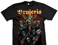 Brujería - Dias de los Muertos 2017 Tour T-Shirt