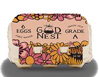 GoodNest Eggs Logo & Packaging