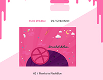 Dribbble 1st Shoot