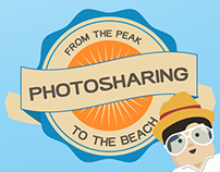 Infographic Photo Sharing apps