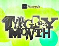 AIGA Pittsburgh Typography Month (2015)