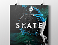 Blank Skate Competition