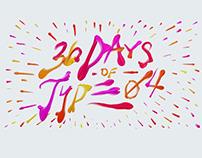 36 Days of Type - 04