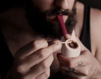 VN+ customizabled tobacco pipe
