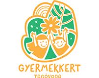 GYERMEKKERT kindergarten logo design
