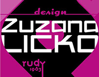 Zuzana Licko - Afiche