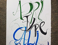 Project Calligraphy & Typography