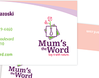 Mum's the Word Identity