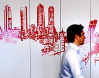 GR_MADRIDTZ_mural corporativo DTZ