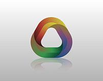 Download Creative Triangle Logo Vector Free