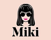 Miki Logo, Identity & Website