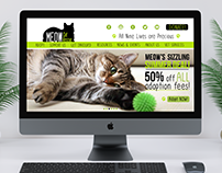 MEOW Cat Rescue Re-Branding