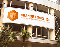 Logo System | Orange Logistics Cargo Airline
