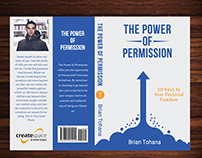 Simple and Classic Book Cover for The Power of Permissi