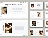 Angeline - FREE Powerpoint Template