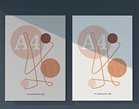 A4 Paper Letterhead / Flyer Mockups