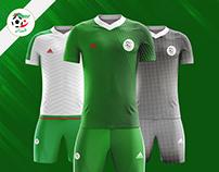 ALGERIA KIT FOOTBALL