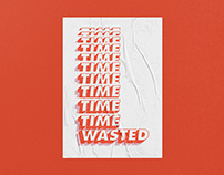 Time Wasted - Poster Mostra 2018