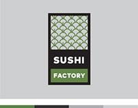 Branding - SUSHI FACTORY