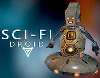 Sci-Fi droid