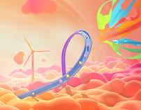 Google Daydream Logo Animation