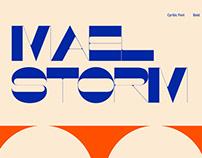 Maelstorm Cyrillic Font