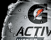 3D bottles to Gatorade Active 1L • Mexico