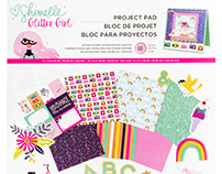 Shimelle Glitter Girl Collection for American Crafts