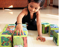 Interactive textile toy based on Bhutanese culture