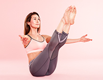Om Yoga Magazine Photoshoot - Plough Studios, London