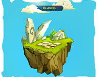 Mobile Game Islands