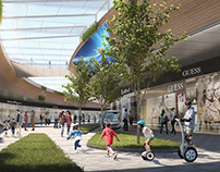 3D Renderings- Commercial Street
