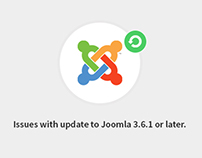 5 issues that may appear while updating to Joomla 3.6.x