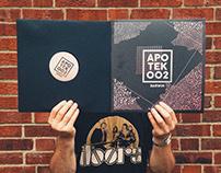 'Apotek 002 - Darwin' Vinyl Cover