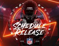 NFL Schedule Release 2018